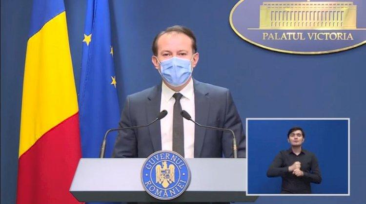 Florin Cîțu: Vor exista noi relaxări de la 1 iunie, indiferent de rata de vaccinare