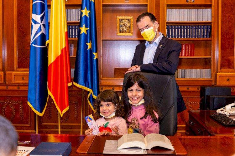 Ludovic Orban, consilier profesional pentru o fetiță care vrea să devină astronaut