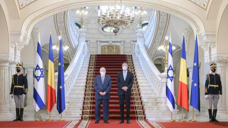 Iohannis: Între România și statul Israel există relații privilegiate cu caracter strategic