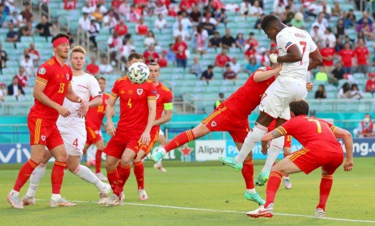Țara Galilor și Elveția au remizat, scor 1-1, în prima etapă a grupelor de la Euro 2020