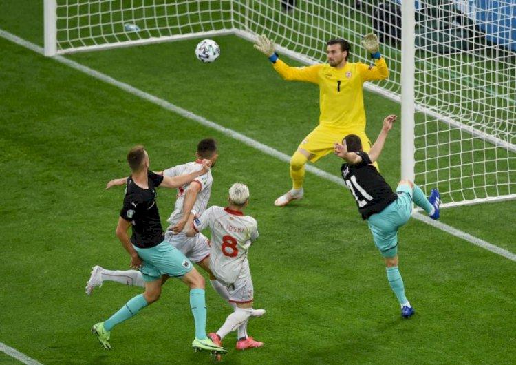 Austria a învins Macedonia de Nord, pe Arena Naţională