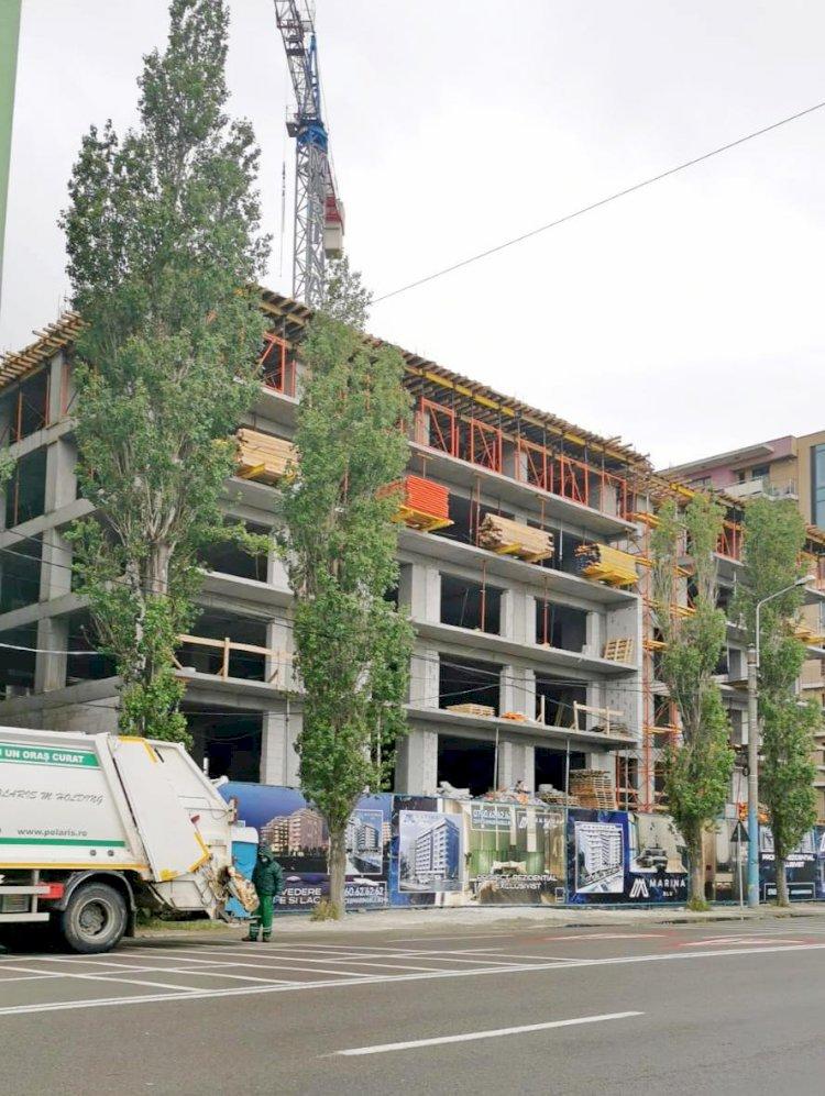 Sancțiuni aplicate în stațiunea Mamaia pentru nerespectarea condițiilor de siguranță a lucrărilor
