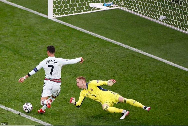 Ungaria - Portugalia 0-3. Cristiano Ronaldo a scris istorie la Budapesta