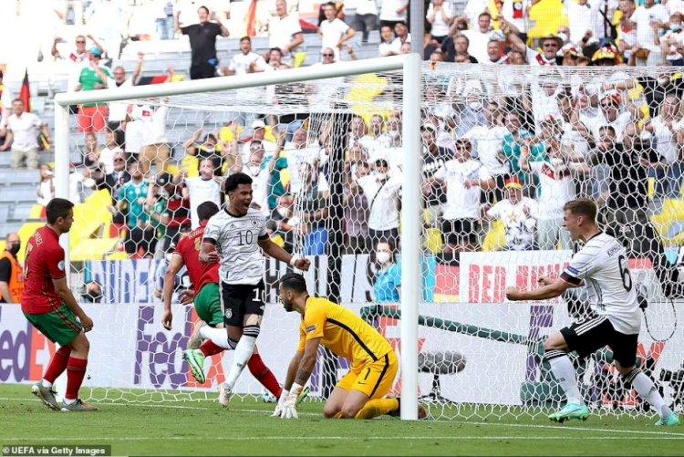 Germania a învins campioana europeană Portugalia cu 4-2