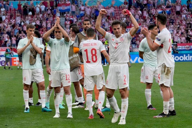 Spania a învins Croaţia după prelungiri, scor 5-3 şi s-a calificat în sferturi