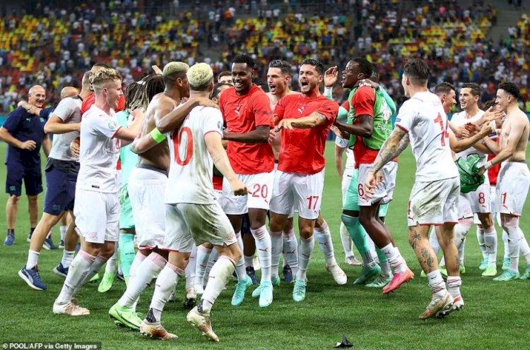 Franța, eliminată de la EURO 2020 după un meci-spectacol cu Elveția