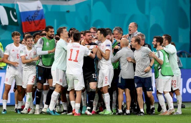 Spania, calificată în semifinale, după 3-1 cu Elveţia la loviturile de departajare