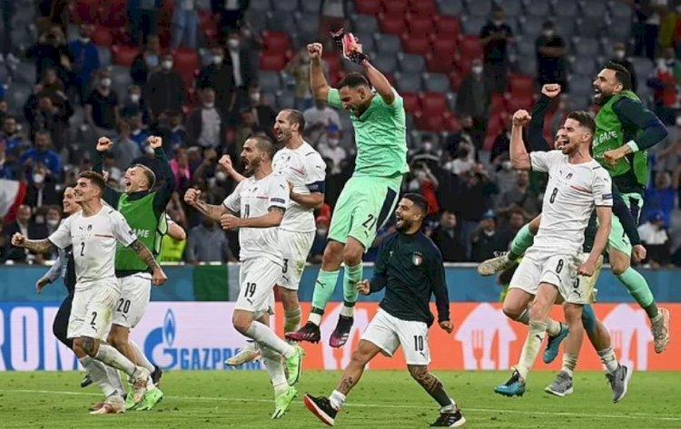 Italia a învins Belgia, scor 2-1, și va înfrunta Spania în semifinalele Euro 2020