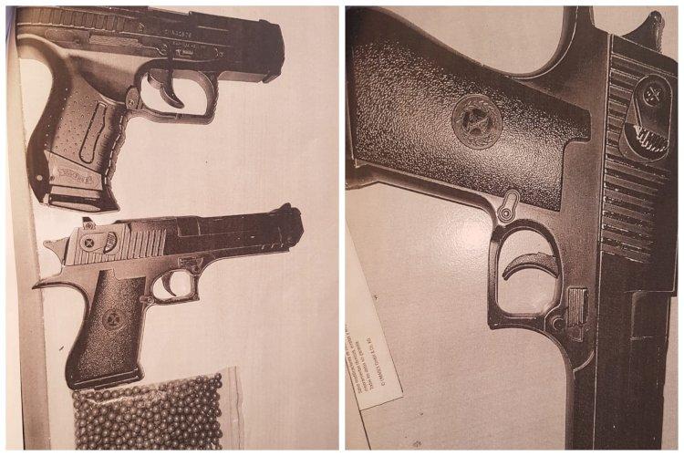 Sunt interzise portul şi folosirea armelor sau dispozitivelor neletale în locuri publice