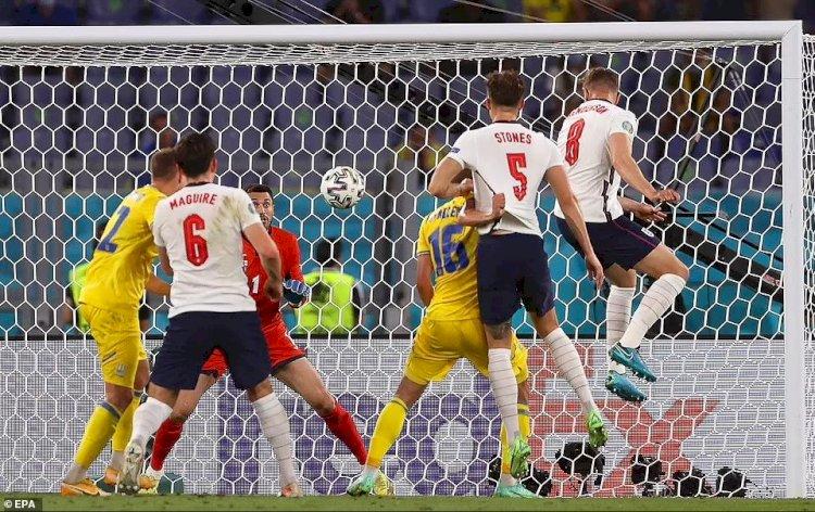 Anglia, calificată în semifinale după ce a surclasat Ucraina cu 4-0