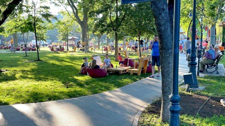 În acest weekend, centrul orașului se transformă într-o oază de relaxare