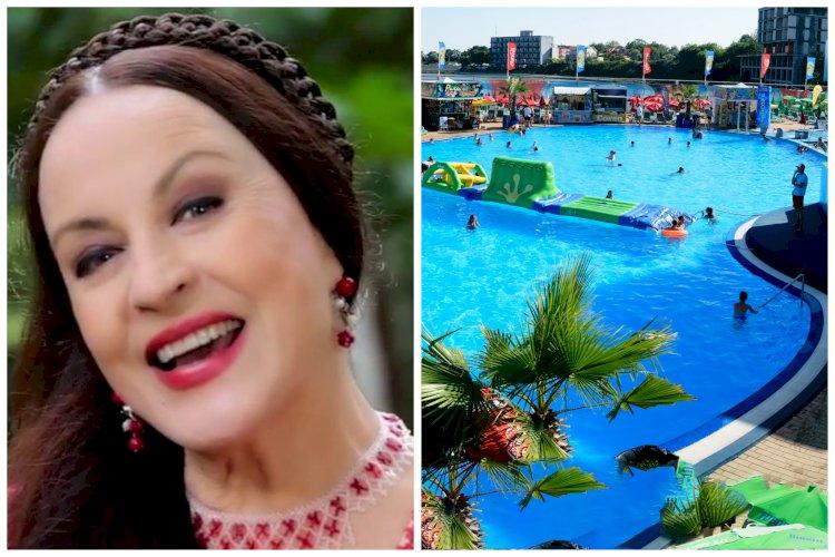 Maria Dragomiroiu susține o petrecere tradițională românească, la Eforie Aqua Park