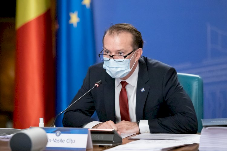 Cîțu: Guvernul sesizează CCR pentru conflict cu Parlamentul pe tema moţiunii de cenzură