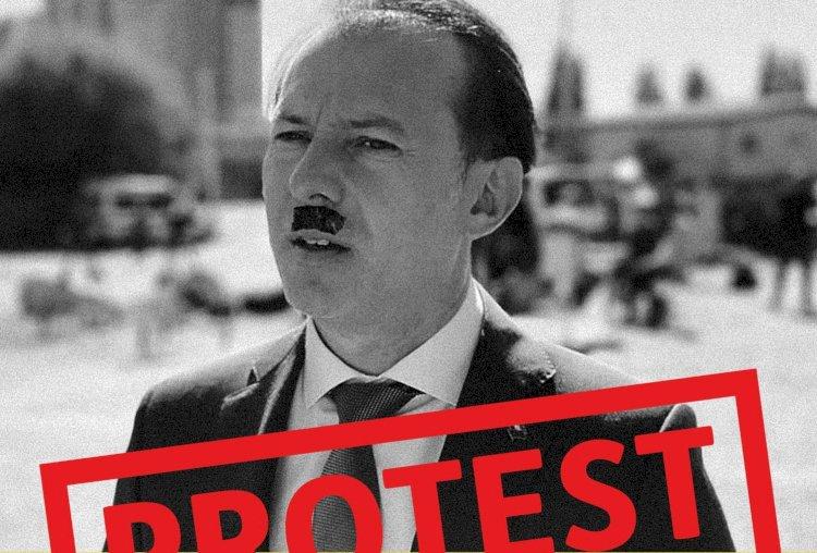 Plângere penală împotriva AUR pentru asocierea lui Florin Cîțu cu Hitler