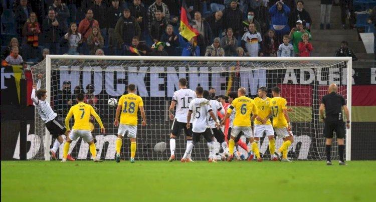 România a pierdut greu în faţa Germaniei, cu 1-2, în preliminariile CM 2022